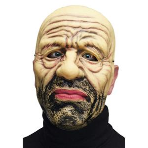 Fun World Adult Hobo Homeless Vagabond Plastic Character Costume Mask