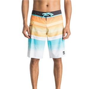 "Quiksilver Men's Everyday Stripe 21"" Boardshorts Orange 32"