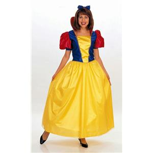 Rubie's Classic Snow White Deluxe Storybook Princess Adult Costume Large 15069