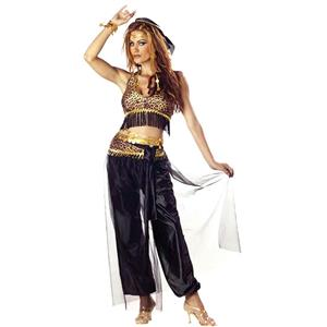 California Costumes Women's Sexy Egyptian Belly Dancer Adult Costume Medium 8-10
