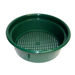 "Keene Engineering Economy Stackable Classifying Sieve Green 3/8"" Made in USA"