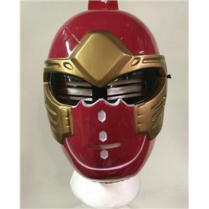 Disguise 2003 Red Power Ranger Ninja Storm Plastic Child Costume Play Mask