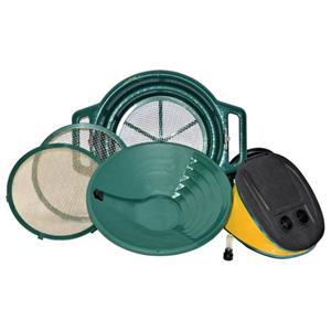 Keene Engineering GPCYK Cyclone Wet or Dry Gold Pan and Mining Kit