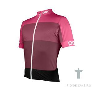 POC Fondo Light Jersey Sulfate Multi Pink Size L