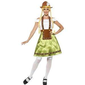 Smiffy's Women's Bavarian Maid Adult Costume Size Medium