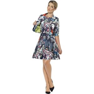 Smiffy's Zombie Print Women's Suit Dress and Jacket Adult Costume Small 6-8