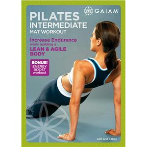 GAIAM Pilates Intermediate Mat Workout DVD