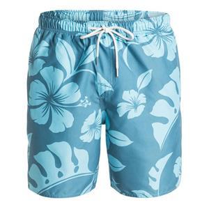 "Quiksilver Mens Nassau 18"" Volley Boardshorts Blue Large"