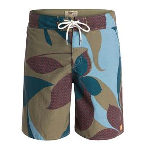 """Quiksilver Mens Viceroy 19"""" Boardshorts Green 34"""
