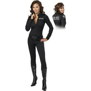 Cinema Secrets S.W.A.T. This! Sexy Swat Adult Women's Costume Large 14-16