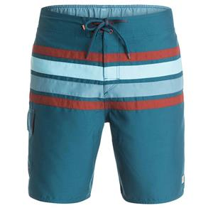 "Quiksilver Mens Melbourne 19"" Volley Boardshorts Blue Large"