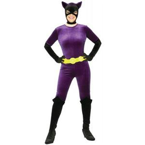 Rubie's Costume Co Women's Batman Dc Style Guide Gotham Girls Catwoman Small 6-9
