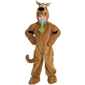 Deluxe Scooby Doo Child Costume X-Small 3-4