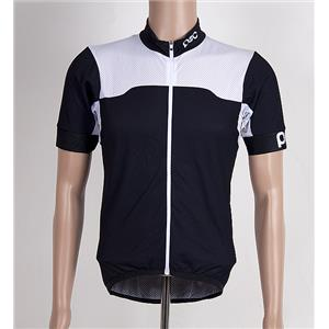 POC Men's Cycling Jersey Large Black/White