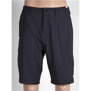 """Quiksilver Subtle 20"""" Amphibian Shorts Men's 32 Black/Grey"""
