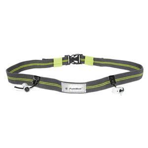 Fuelbelt Race Gear Reflective Race Belt Green/Carbon