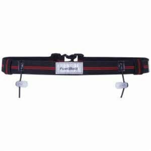 Fuelbelt Race Number Belt Reflective Red/Black