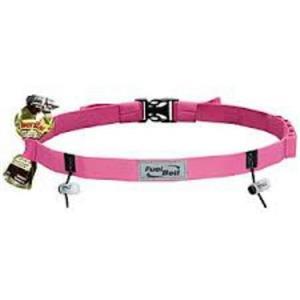 Fuelbelt Race Gear Gel-Ready Number Belt Pink