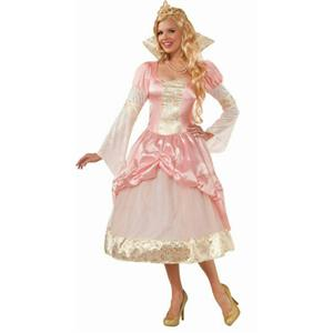 Forum Women's Couture Priscilla Pink Princess Adult Costume Size M/L 8-12