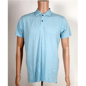 Quiksilver Polo Shirt Light Blue Medium