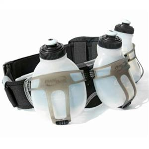 FuelBelt Revenge R3O 3-Bottle Belt Black/Carbon