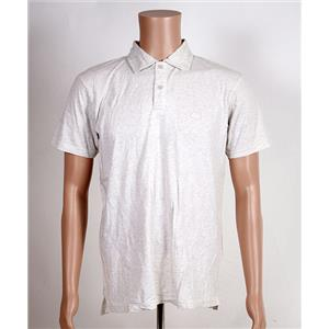 Quiksilver Sun Cruise Polo Shirt Snow White Heather Medium