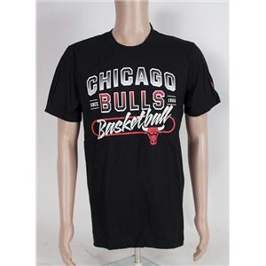 Adidas NBA Chicago Bulls Basketball Men's T-shirt Large
