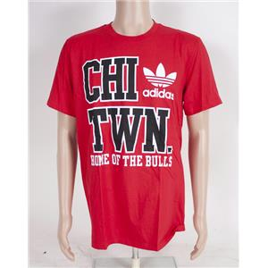 Adidas NBA Chicago Bulls Chi Town T-Shirt Large