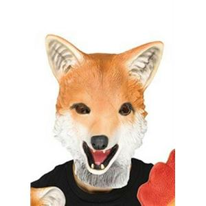Fun World Latex Fox Adult Animal Mask