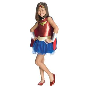 Justice League Child's Wonder Woman Tutu Dress Girl's Toddler Costume 2-4