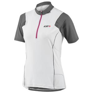 Louis Garneau Women's Epic MTB Jersey - White - Women's Medium