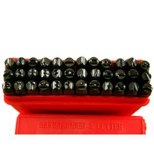 "5/32""  4MM Letter & Number Punch Stamp Set  Metal-Steel Serial# Trailers Tools"