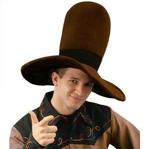 Jumbo Brown Cowboy Costume Hat