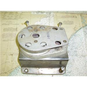 "Boaters Resale Shop of TX 1609 2452.31 LARGE (5"") CHEEK BLOCK FOR 3/4"" LINE MAX"