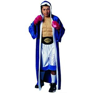 Men's Prize Fighter Boxer Champ Adult Padded Muscle Chest Costume Standard Size