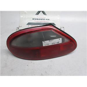 97-00 Jaguar XK8 XKR left side tail light faded** LJA4901BD