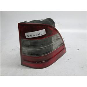 98-02 Mercedes W163 ML320 ML430 ML55 right side tail light 1638200464