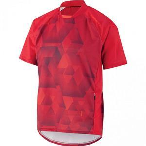 Louis Garneau Men's Span MTB Jersey - Red - Men's Medium