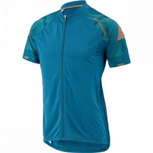 Louis Garneau Men's Maple Lane Cycling Jersey - Blue / Gray - Men's Medium