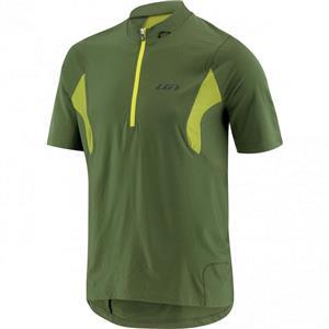 Louis Garneau Men's Epic Cycling Jersey - Green - Men's Medium