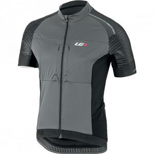 Louis Garneau Men's Cargo Cycling Jersey - Black / Gray - Men's Medium