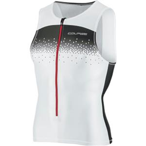Louis Garneau Tri Elite Course Sleeveless Tri Jersey - White - Women's Medium