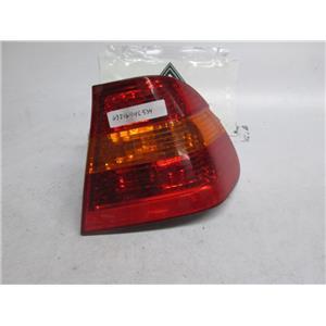 01-05 BMW E46 right outer tail light 325i 330i 63216946534