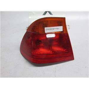 99-01 BMW E46 323i 328i 330i left outer tail light 63218364921