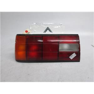 88-93 BMW E30 left side tail light 318is 325i 325is 63211385381