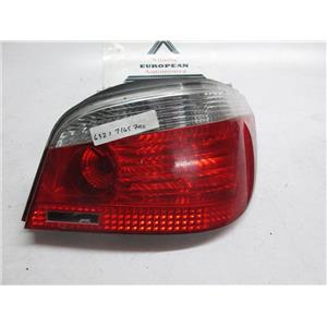 04-07 BMW E60 right tail light 63217165740 525i 530i 545i 550i M5
