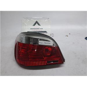 04-07 BMW E60 left tail light 63217165739 525i 530i 545i 550i M5