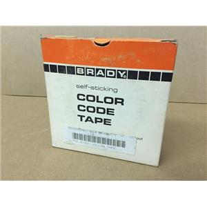 "Brady Yellow Tape 1-1/2"" x 90' ETS 95100 980400090"