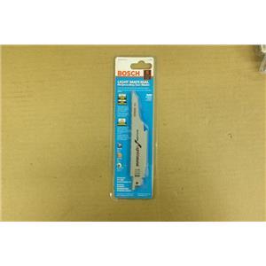 "Bosch Light Material Reciprocating Saw Blades 5 Piece SLM6 150mm/6"" 14+18TPI"
