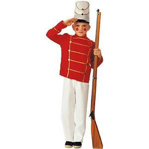 Rubie's Boy's Wooden Toy Soldier Child Costume Large 12-14